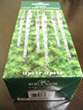 Kurt Adler 3.5in-5.5in Clear Glass Icicle Christmas Ornaments 24pc