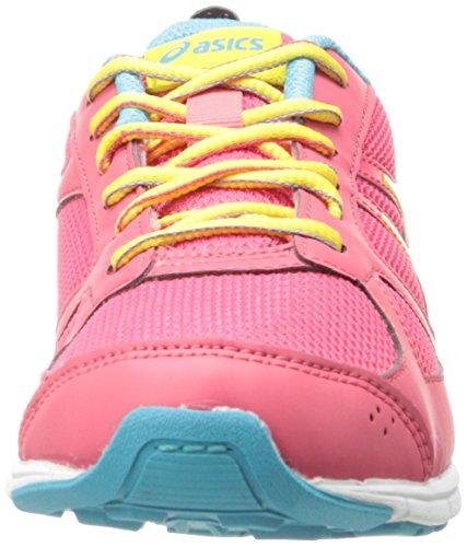 Asics - Zapatillas de voleibol para niño - Raspberry/Lemon/Turquoise