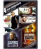 4 Film Favorites: Steve McQueen (The Hunter / Nevada Smith / Bullitt / Papillon)