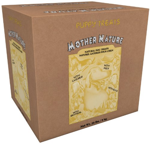 Mother Nature Puppy Treat – 20 lb, My Pet Supplies