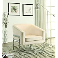 Coaster Home Furnishings 902535 Accent Chair, NULL, Cream