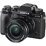 Fujifilm X-T2 Mirrorless Digital Camera 18-55mm Lens (Black) (International Version) No Warranty