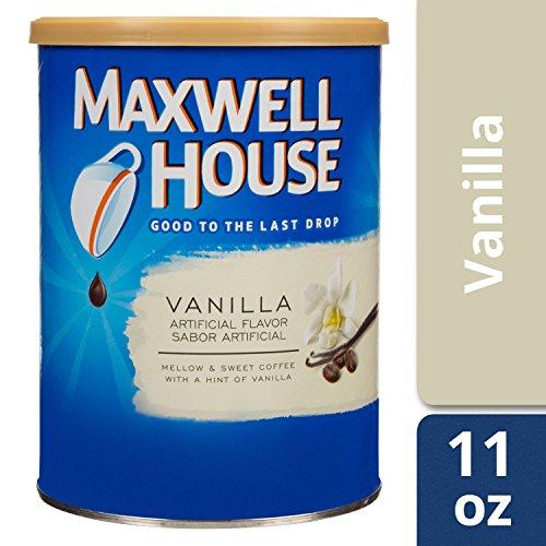 Maxwell House Vanilla Ground Coffee (11 oz Tin)
