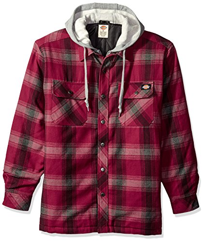 Dickies Relaxed Hooded Plaid Jacket