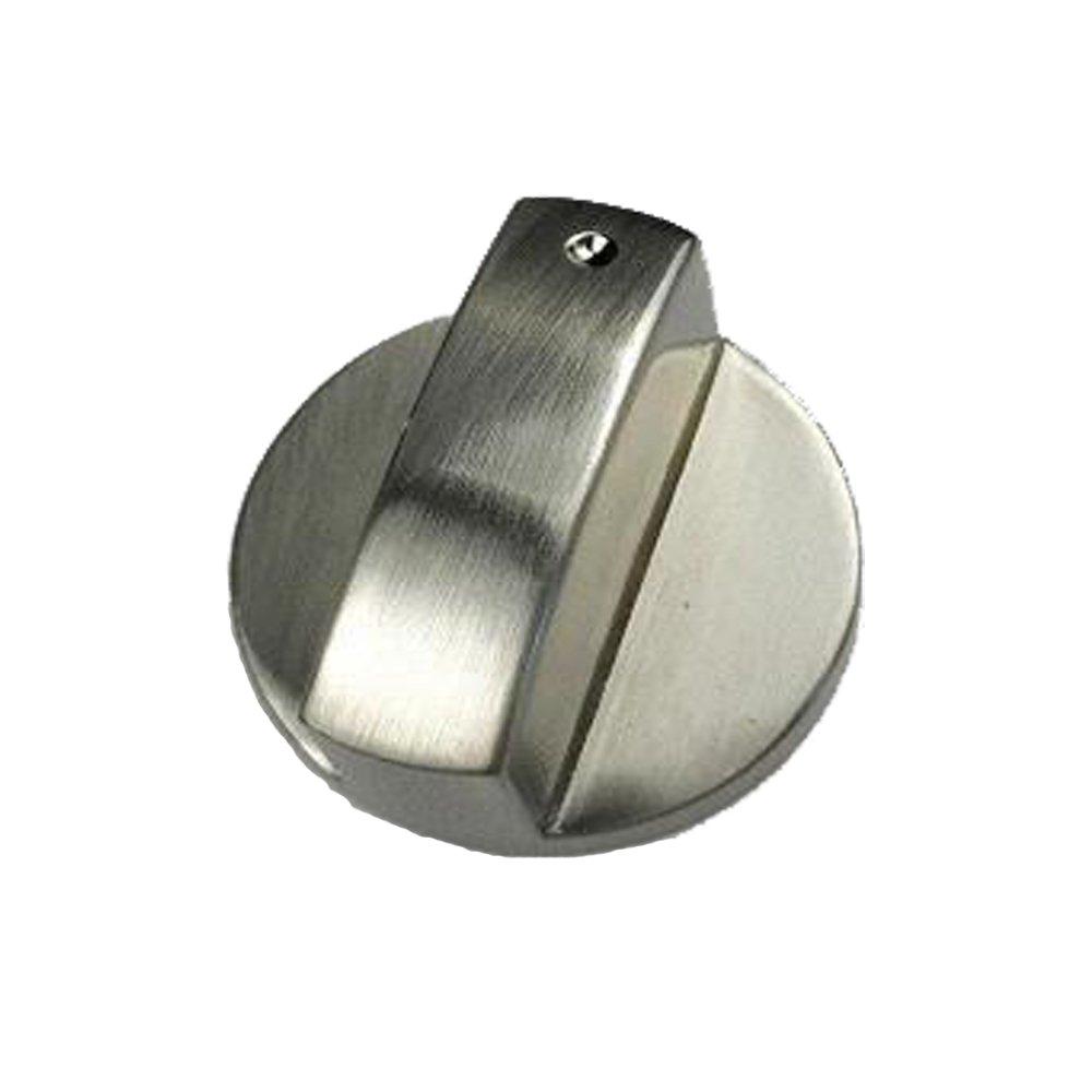 4 Piezas Metal 8mm Universal Plata Cocina de Gas Botones de Control Adaptadores Horno Interruptor Cocina Control de Superficie Cerraduras,Estufa Horno Cocina Interruptor de bot/ón de Control 1