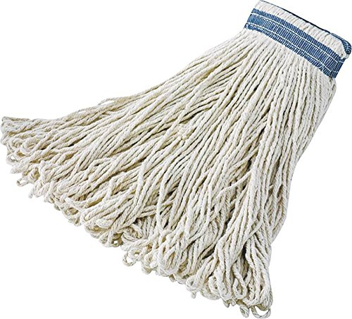 Wet Mop Hd Lp End Wht Ctn 32oz
