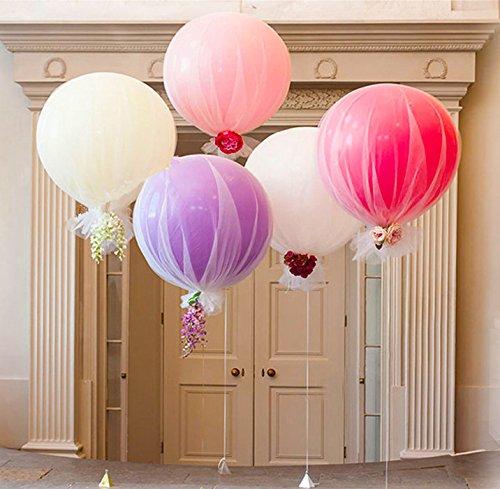 Review Light Purple Balloon Tulle