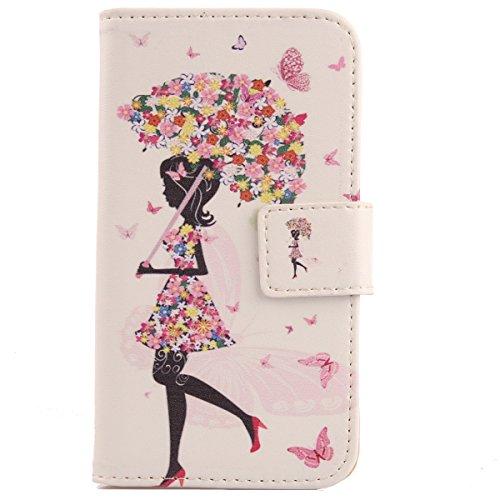 Lankashi Pattern Wallet Design Flip PU Leather Cover Skin Protection Case for Blackview R6 lite 5.5