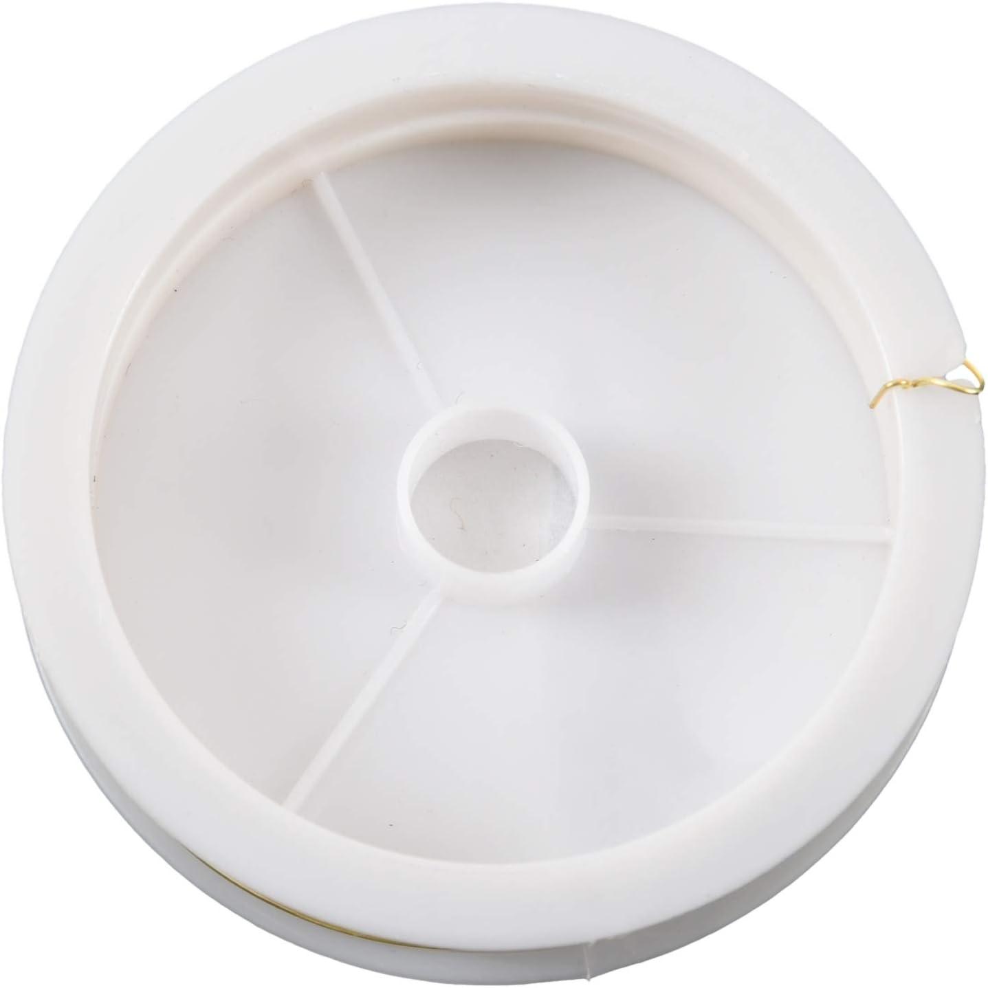 R TOOGOO Filo dottone colorato Oro 9m x 0.5mm