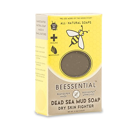 Beessential Dead Sea Soap Mud, 5 Ounce