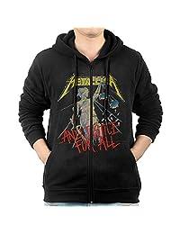 Men Hoodie Metallica And Justice For All Zip Sweatshirt