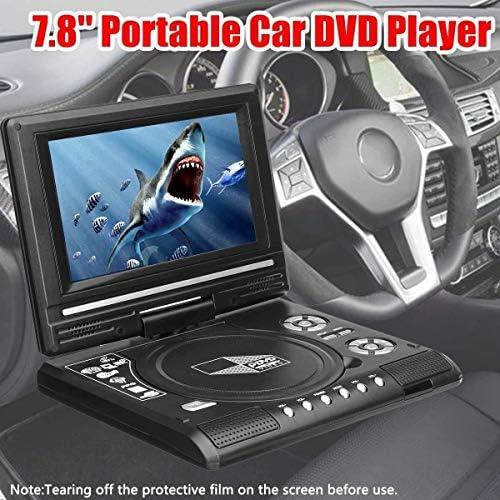 ZHZH-JP HD 7.8インチポータブルテレビホームカーDVDプレーヤーVCD CD MP3 DVDプレーヤーのUSB SDカード
