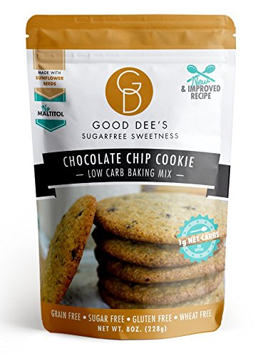 (Good Dee's Chocolate Chip Cookie Mix - Low-carb, Sugar-free, Gluten-free!)