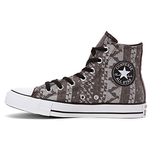 Star White All Chuck Converse Taylor Black White High Top wtfqa