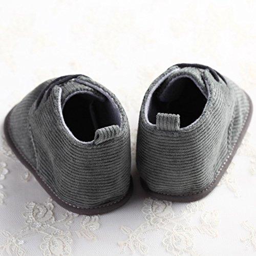 Recién nacido Baby Boy Kids Primera Walkers Zapatos Calzado Infant Toddler Bebe suave soled antideslizante botas de ocio 0–