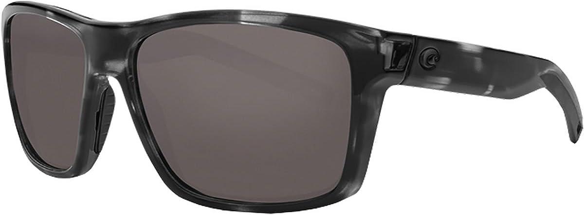 Costa Del Mar Men's Bloke Rectangular Sunglasses