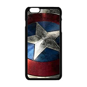 Cool Painting captain america's shield Phone Case for Iphone 6 Plus