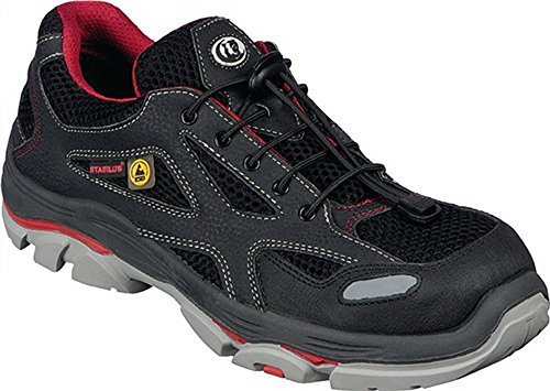 Chaussures de sécurité EN20345Taille 46S1ESD 6130A Fonction textiles Doublure Noir