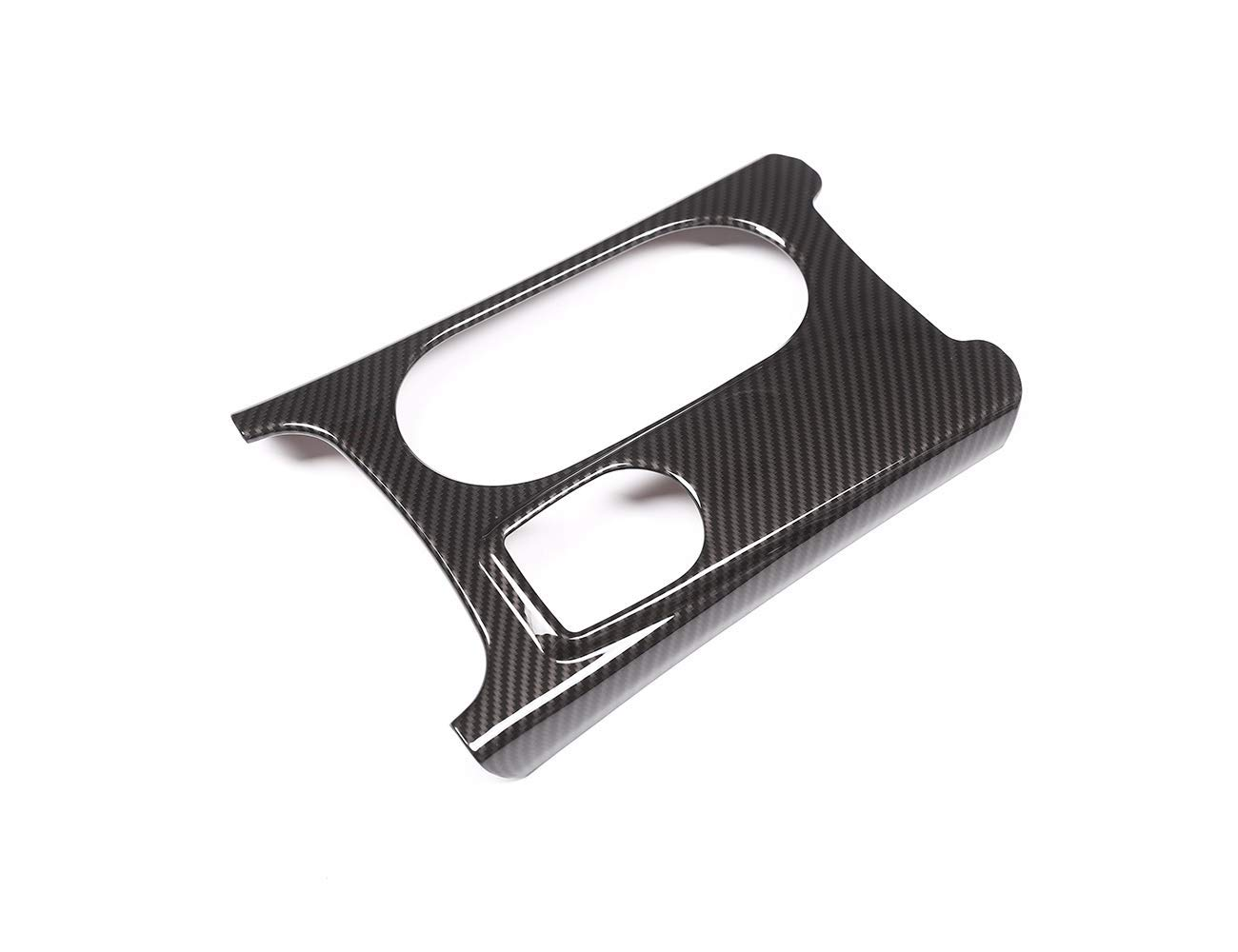 TongSheng Carbon Fiber Water Cup Holder Cover 1pc for Mercedes Benz A//GLA//CLA Class C117 W117 W176 X156 2012-2017