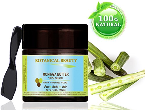 moringa butter oil 100 natural 100 pure botanicals 4 120 ml for skin hair and. Black Bedroom Furniture Sets. Home Design Ideas
