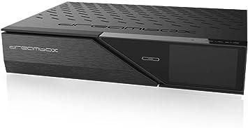 Dreambox 13036–200DM900UHD 4K 2x DVB-S2X/1x DVB-C/T2sintonizador Triple E2Linux PVR Receptor Negro