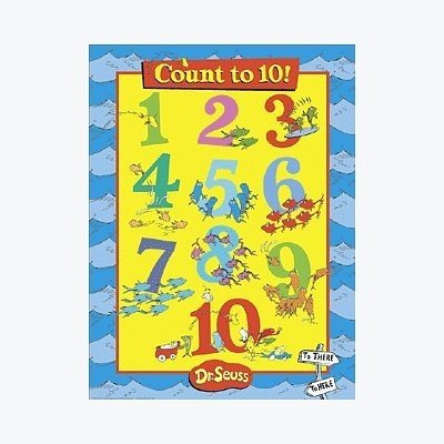 Peaceable Kingdom Poster Print - (18x24) Dr Seuss Count to 10 poster quality print