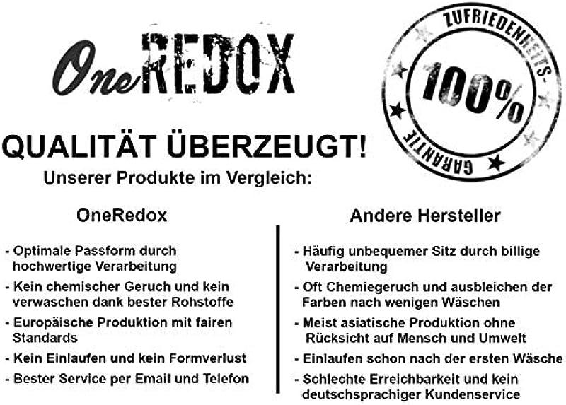 OneRedox Designerskie męskie dżinsy cargo spodnie cargo Regular Skinny Fit Destroyed Stretch model 8035: Odzież