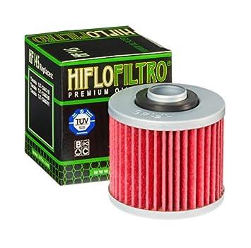 Hiflo HF145 - Filtro de aceite para moto Yamaha 250 SR (1979-1996): Amazon.es: Coche y moto