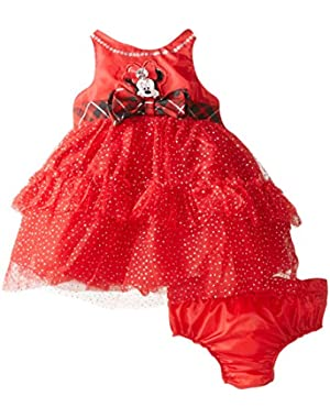 Baby-Girls Minnie Woven Dress!