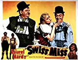 Swiss Miss POSTER Movie (1938) Style A 11 x 14 Inches - 28cm x 36cm (Stan Laurel)(Oliver Hardy)(Della Lind)(Walter Woolf King)(Eric Blore)(Thelma Todd)(Patsy Kelly)