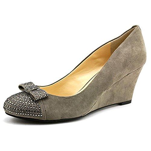 Jessica Simpson SELEY mid-heel Keil Pumpe Heels–Military Blau Charcoal