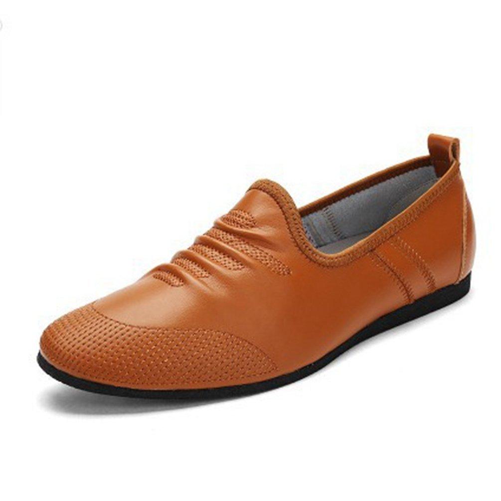 Feidaeu - Zapatos de Sintético Hombre 40 EU Amarillo