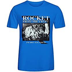 Rocket From The Crypt Pure Genius Cool Mens T-Shirt Blue
