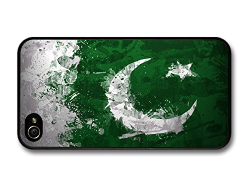 Pakistani Flag Pakistan Islam Muslim coque pour iPhone 4 4S