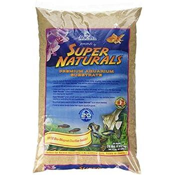Caribsea Super Naturals Aquarium Sand, 20-Pound, Sunset Gold
