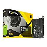 ZOTAC GeForce GTX 1050, 2GB GDDR5 DisplayPort, HDMI, Dual-Link DVI-D, Super Compact Gaming Graphics Card (ZT-P10500A-10L)