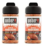 weber bbq sauce - Weber Garlic Habanero Scorchin` Hot Seasoning 5.75 Ounces (Pack of 2)