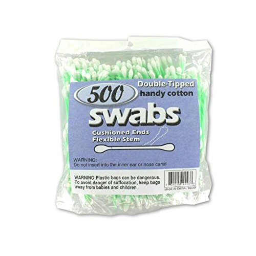Double-tipped cotton swabs-Package Quantity,48 by Generic