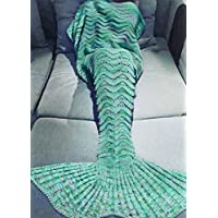 Holidayli Mermaid Tail Blanket for Adults Women Girls...
