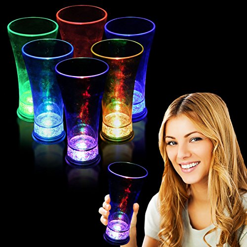 LED Pilsner Glass-14oz