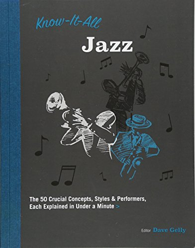 Know It All Jazz: The 50 Crucial Concepts, Styles, and Performers, Each Explained in Under a Minute Bass Big Band Saxophone