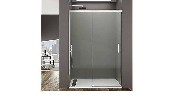 Mampara de ducha corredera Reha par degeo | vidrio templado de 6 ...