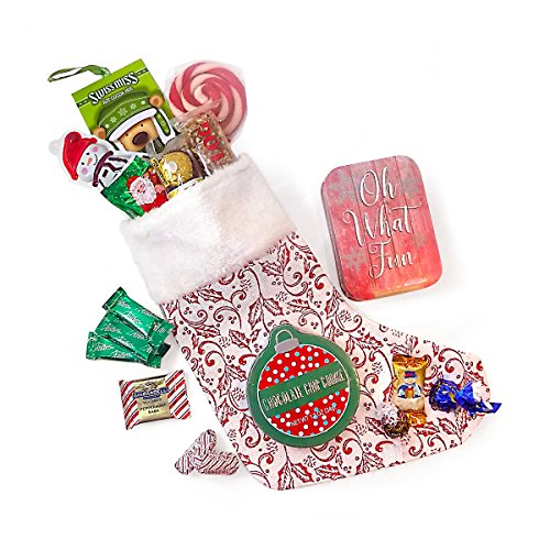 Ho-Ho-Ho Christmas Stocking Stuffed with All Their Favorites