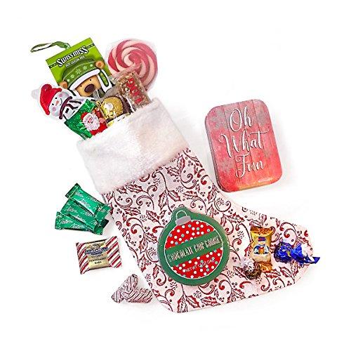 Ho-Ho-Ho Christmas Stocking Stuffed with All Their Favorites ()