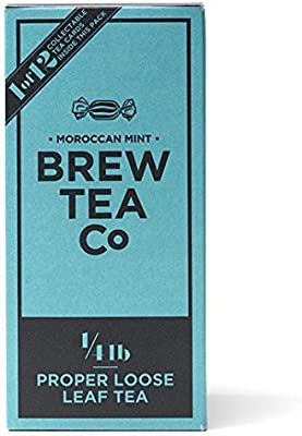 6fca3bb6fea9 Amazon.com   Brew Tea Co Moroccan Mint - Loose Leaf Tea 113g (Pack of 2)    Grocery   Gourmet Food