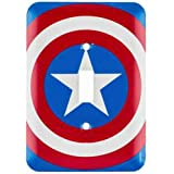 Marvel Comics Captain America Shield Wall Light Switch Cover