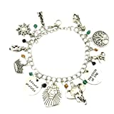 Superheroes Brand Lion King Disney Classic Cartoon Characters Charm Bracelet w/Gift Box Movies TV Cosplay Jewelry Series by
