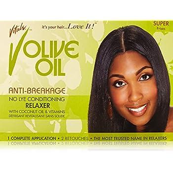 amazon com vitale olive oil relaxer kit super beauty