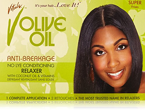 Vitale Olive Oil Relaxer Kit, Super