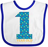 Best inktastic Birthday Gift For 1 Year Old Boys - Inktastic - First Birthday-1 Year Old Baby Bib Review